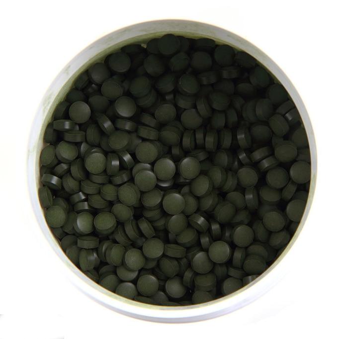 3000pcs Organic Chlorella Vulgaris Chlorella Pyrenoidosa Tablet Broken High Quality Rich of Chlorophyll,Protein natural organic soap chlorella 85g