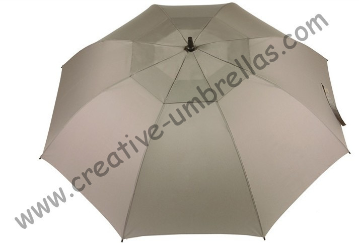 Free shipping,professional straight golf umbrellas 14mm fiberglass shaft and 5.0mm fiberglass ribs,auto open,windproof
