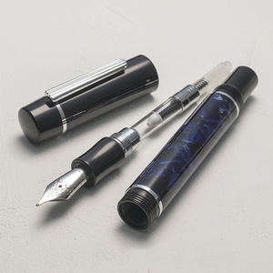 Image 5 - WANCHER ZEN Mosaic Body [FOR LEISURE & COLLECTION] EF/F/M Nib Fountain Pen FROM JAPAN