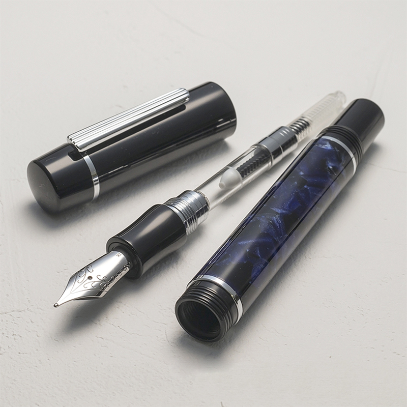 Image 5 - Wancher High quality Fountain pen Stainless Steel 0.5mm fine-in Fountain Pens from Office & School Supplies
