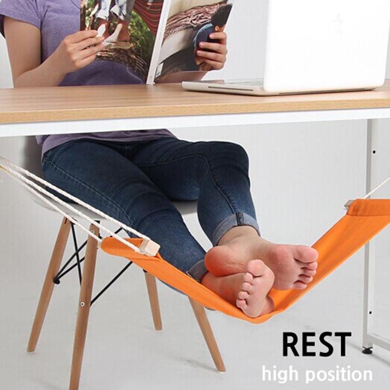 HOT sale FUUT Desk Feet Hammock / The Foot Hammock Orange free shipping