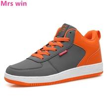 Men Women Air Running Shoes Outdoor Waterproof Men Sneakers Winter Plus Cashmere Warm Sport Shoes Camping Flat Walking Shoes