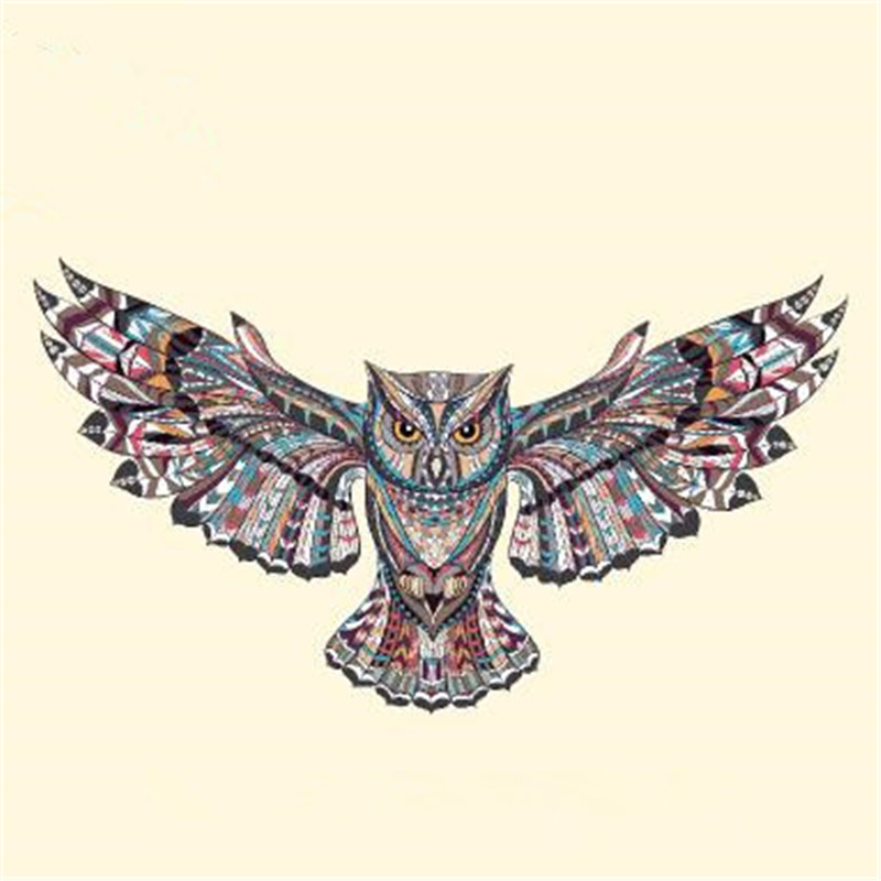 T shirt Women patch 10cm 3D eagle iron on patches for clothing transfer printing clothes for girls animal stickers free shipping