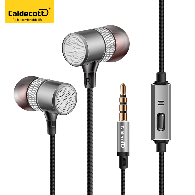 Luxury Metal Aluminum Original Earphone In-Ear Head phone MIC Headphone 3.5MM 3D Stereo Bass For iphone Samsung Sound Quality magnet metal in ear earphone stereo bass sound anti sweat sport earphone with mic handsfree earbuds for smart phone mp3 xiaomi