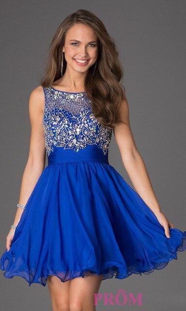 Vestidos de noche azul menta