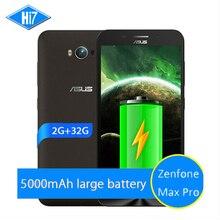 """НОВЫЙ Оригинальный ASUS Zenfone Max Pro 5000 2 ГБ RAM 32 ГБ ROM 4 Г LTE 5.5 """"Snapdragon MSM8916 Android 5.0 Quad Core Мобильный телефон"""