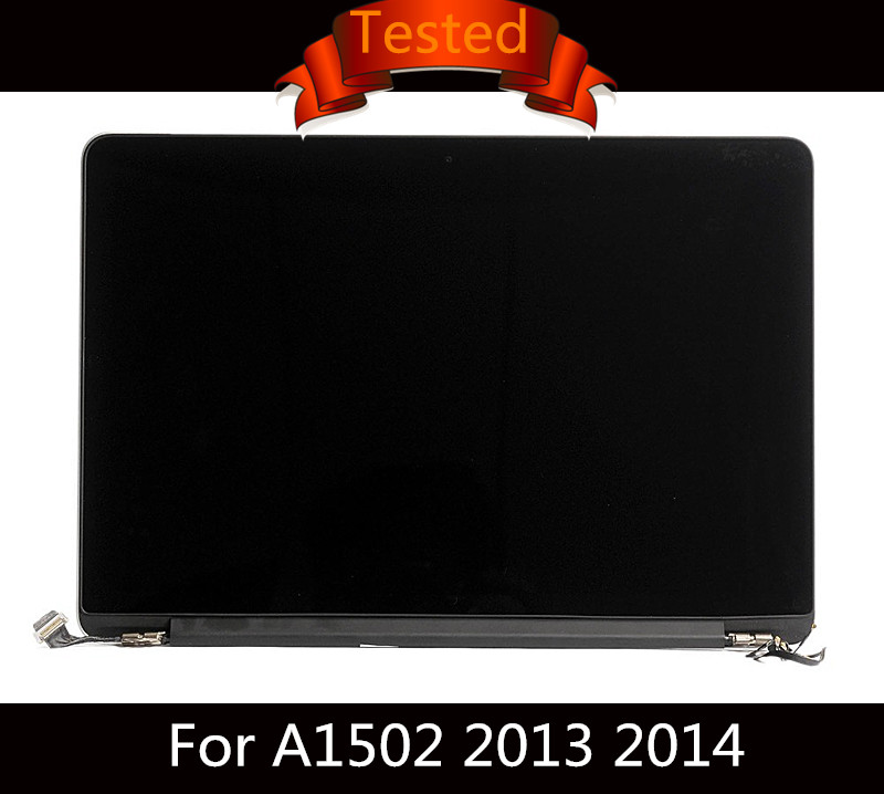 Tested LCD Screen Display Assembly For Macbook Retina 13 A1502 Complete LCD Screen Display Glossy Late 2013 Mid 2014 661-8153 газовая плита flama ak 1411 w электрическая духовка белый