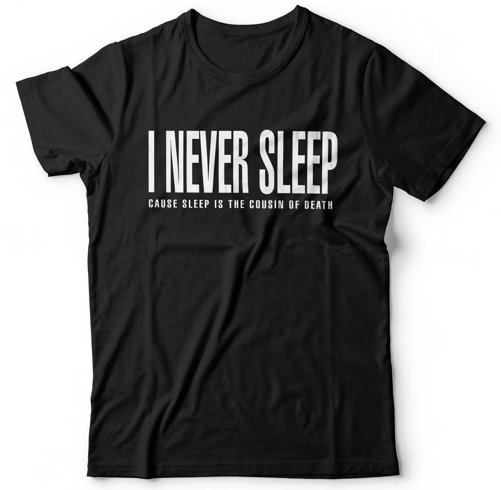 Nas I Never Sleep T-shirt