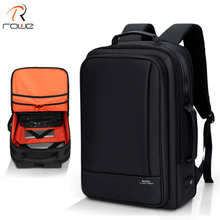 ROWE Multifunction Business 15inch Laptop Backpack Men Travel College Student Bag High Capacity Backpack Waterproof Male Mochila atwo waterproof backpack 15inch laptop backpacks men travel large capacity mochila business