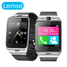 Lemse GV18 font b Smartwatch b font Bluetooth Smart Watch wearable devices For Android IOS Phone