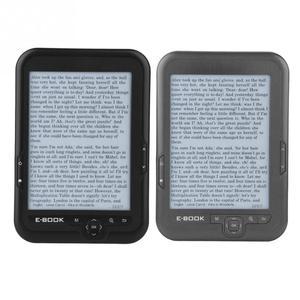 Image 2 - Portable e book reader E Ink 6 inch E reader 800x600 Resolution Display 300DPI Blue Cover 16GB 8GB 4GB eBook
