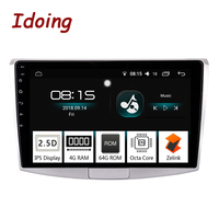 Idoing 10.24G+64G 2.5D IPS 8 Core Car Android 8.0 Radio Multimedia Player Fit VW PASSAT B7 Built in GPS Navigation and GLONASS
