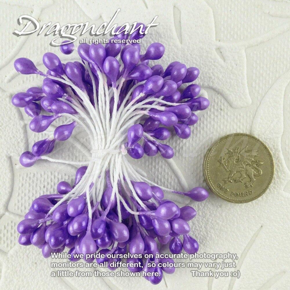 ٩(^‿^)۶Envío libre al por mayor 5mm consejos doble perla flor ...