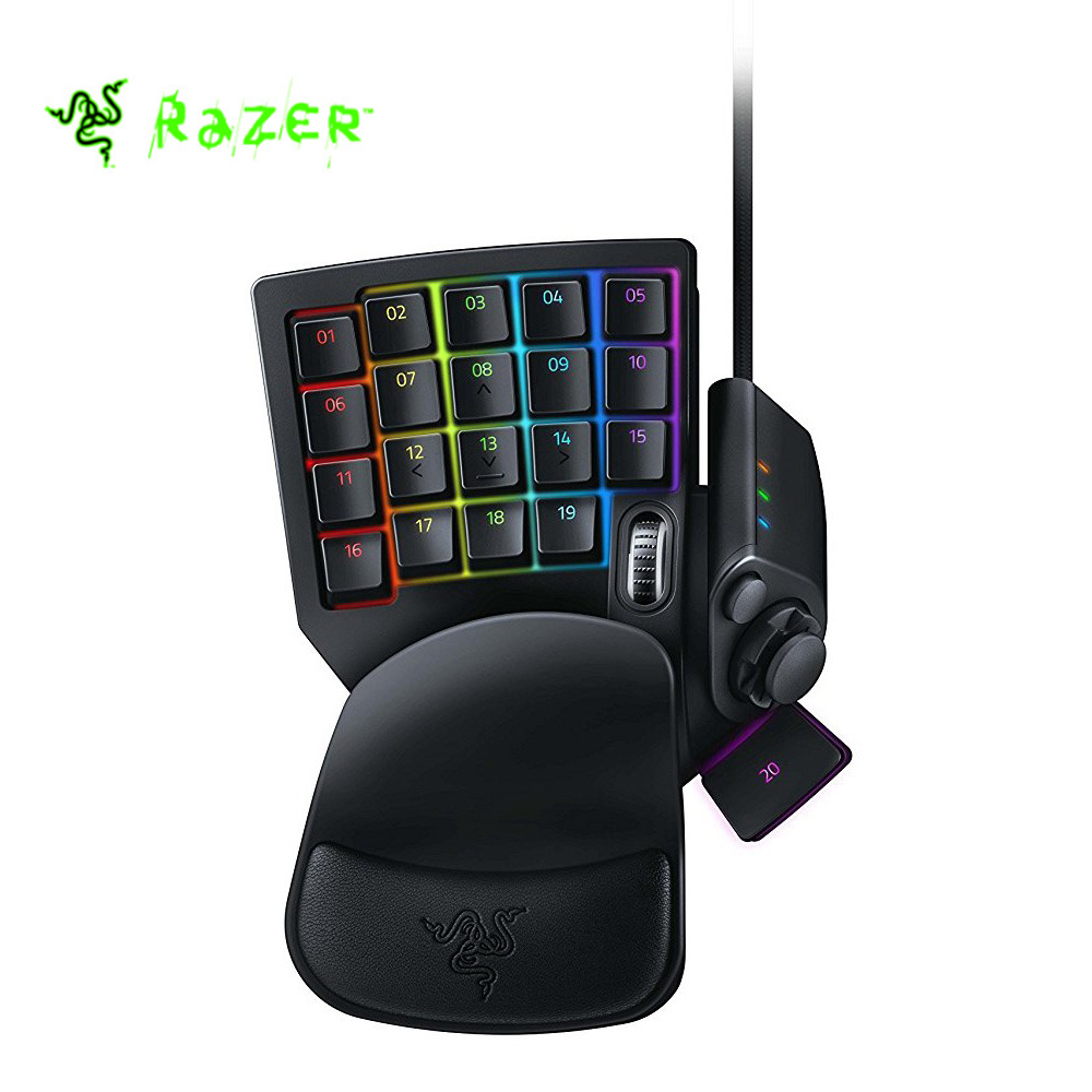 Original Razer Tartarus V2 Chroma Mecha Membrane Wired Gaming Keypad 32 Fully Programmable Keys Black