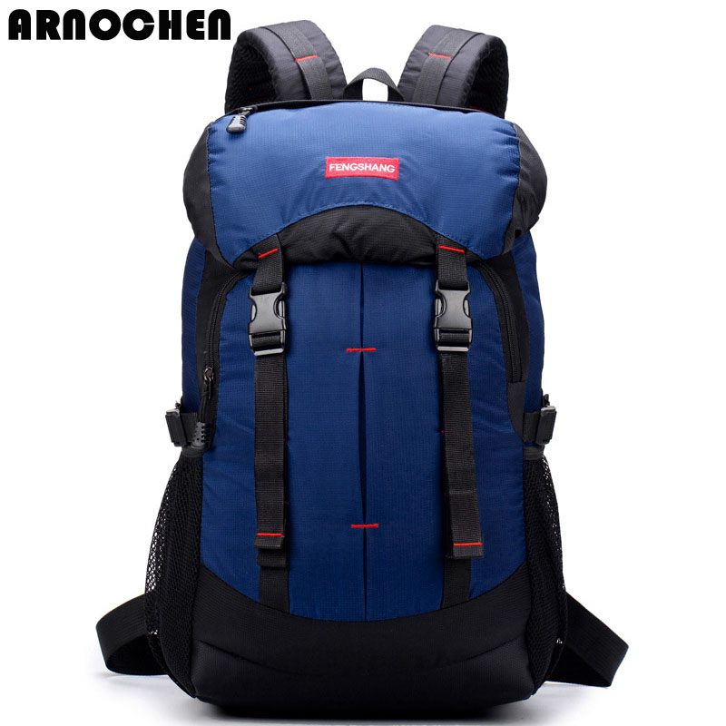 ARNOCHEN 2018 new backpack fashion super large capacity mountaineering bag for men and women  leisure double  XD013