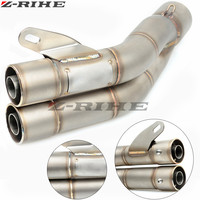35MM/51MM Motorcycle Exhaust Pipe Moto Escape Muffler Pipe FOR XJR FJR 1300 1200 FZR 1000 TMAX 530 500 TMAX530 TMAX500 12 2015
