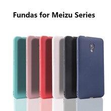 Soft TPU back case for meizu M5 M6 M6S M5note M3 M3S M3note M5C M6note MX6 silicone soft cover MeizuPro6 7 U10 U20
