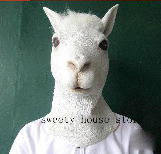 Najnovija vruća maska s kozjim ovcama Halloween fancy dress - Za blagdane i zabave