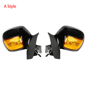 Image 2 - Motorcycle Rear View Mirror With Turn Signal For Honda Goldwing GL1800 2001 2012 2011 2010 Accessories