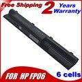 6 células bateria do portátil para HP Probook 440 445 450 455 470 H6L26AA H6L27AA FP06 FP09 HSTNN-LB4K HSTNN-W92C 707617 - 421 10.8 V