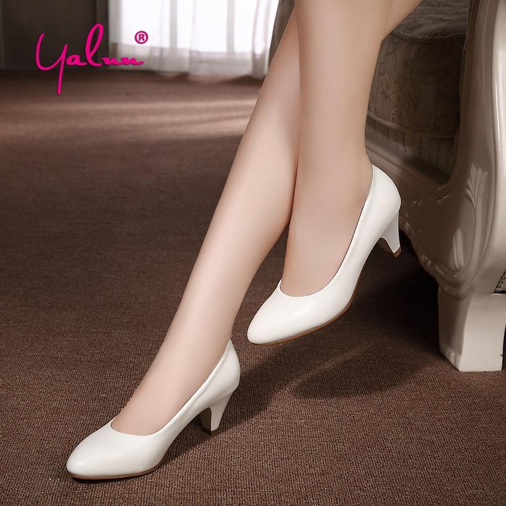 6eb224b71bbb0 ✓Bureau Chaussures Femmes À Talons Hauts 5 CM D été Pompes pour ...