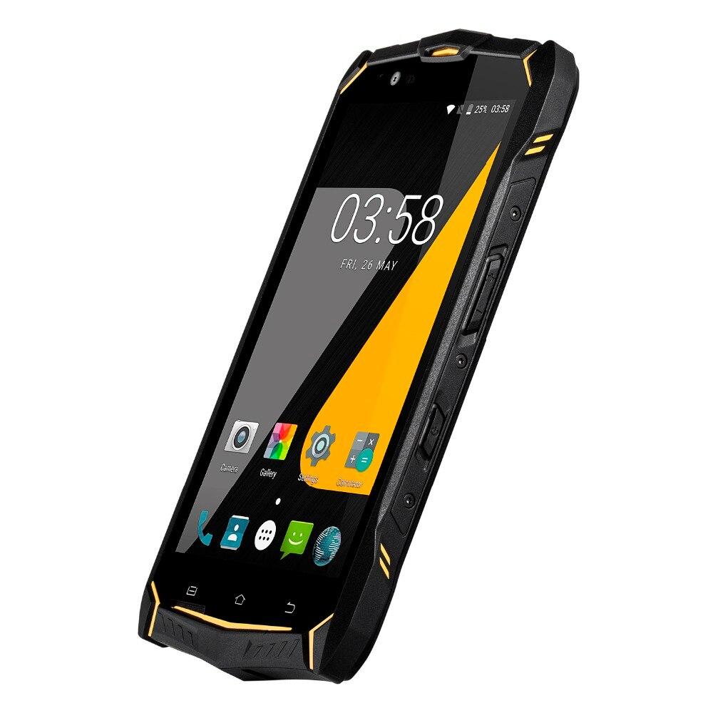 Téléphone robuste Android7.0 OS 5.5 pouces avec résolution 1080*1920 et écran en verre Anti-explosion