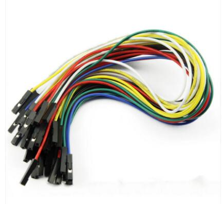 50pcs AWG24# Dupont 250mm Cable Wire 1P-1P Connector