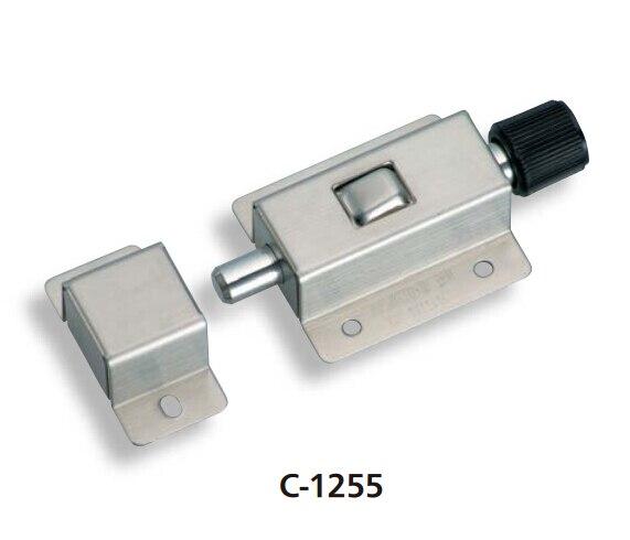 Stainless steel push type door pin C-1255 same TAKIGEN door pin button type door