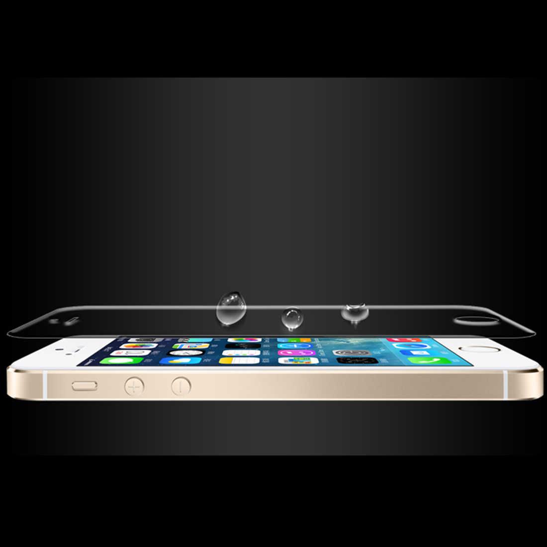 Elenxs انفجار-برهان واضح حارس الشاشة شفافة واقية نانو الانفجار واقية فيلم ل iPhone5 5s 5c 6 /زائد 6 s/زائد