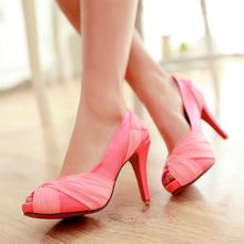 High Heel Sandals Open Toe Pumps for Shemales & Crossdressers