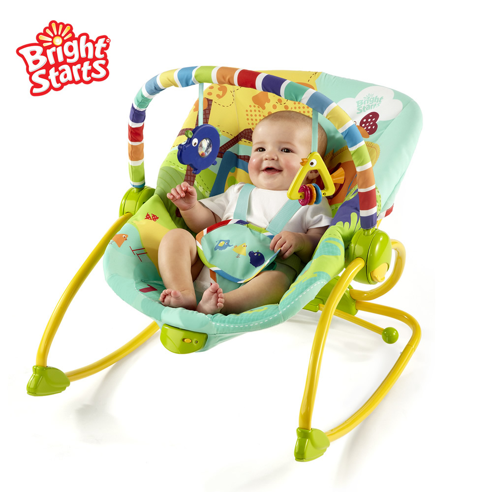 Electric baby rocker chair - Online Shop Bright Starts Multicolour Rocking Chair B7001 Electric Baby Rocking Chair Chaise Lounge Concentretor Aliexpress Mobile