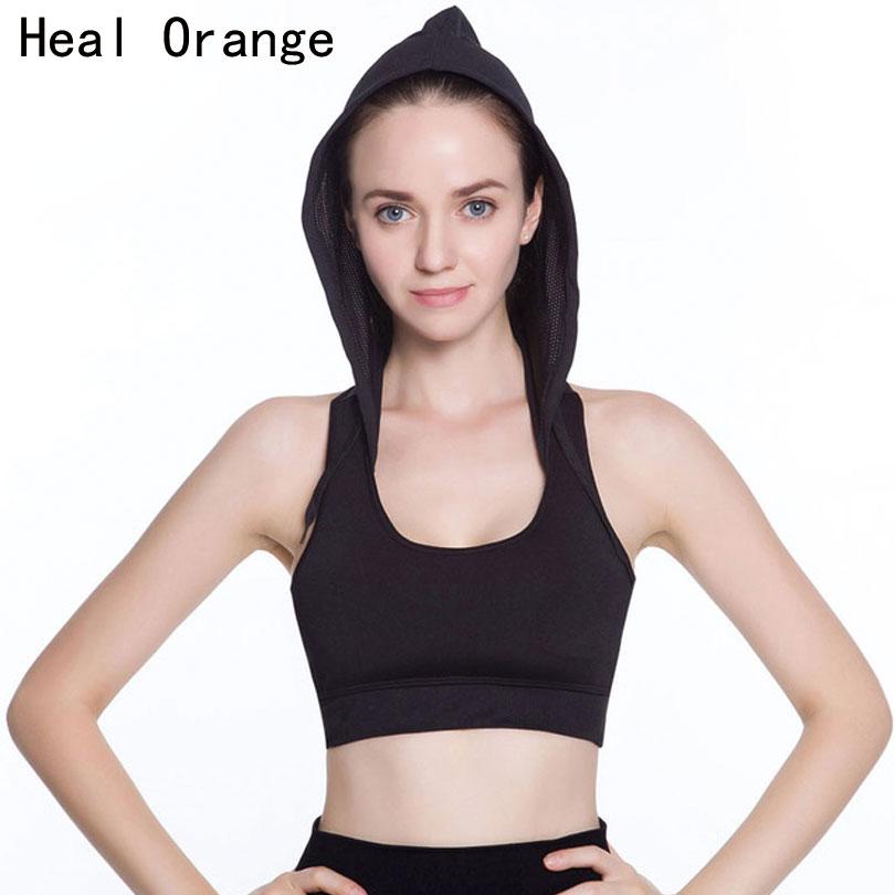 Women Sports Seamless Bra Adjustment Underwear Stretch Tank Tops Yoga ZX