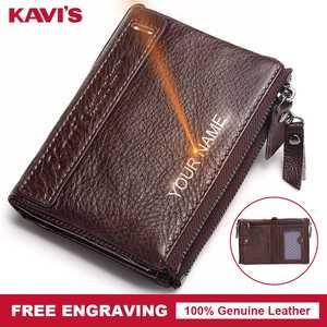 KAVIS Men Wallets Male Coin Purse Zipper Card Holder Mini 9433efaa803c
