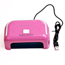 Three south 12W LED UV Lamp for Nails  USB gel nail gel kit uv lamp UV LED Nail Lamp Manicure Dryer gel nail kits with lamp