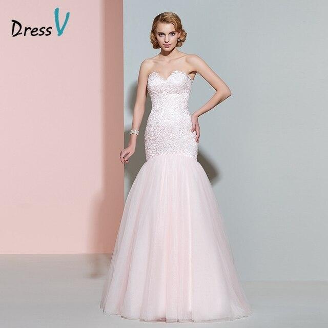 Dressv rosa spitze hochzeitskleid schatz sleeveless zipper up ...