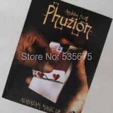 Phuzion(DVD+ GIMMICK)-волшебный трюк, волшебные карты, классические игрушки, Волшебная опора