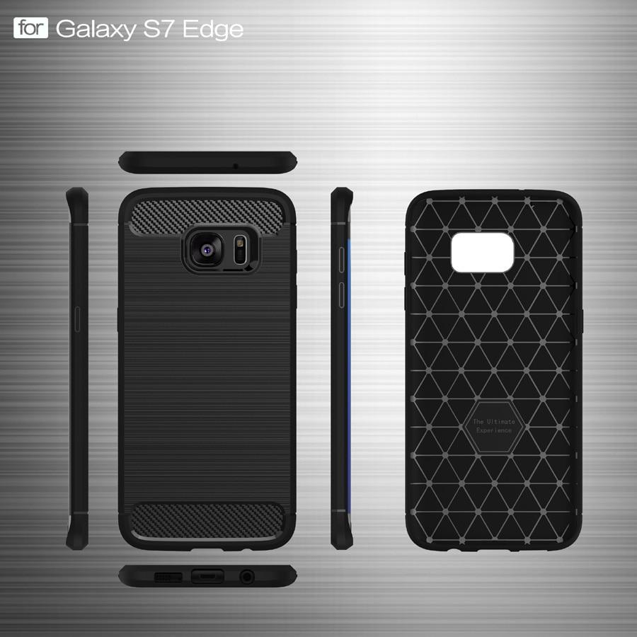 Högkvalitativ halkfri telefonväska för Samsung Galaxy S7 Edge - Reservdelar och tillbehör för mobiltelefoner - Foto 3