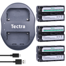 Tectra 3pcs NP-F550 NP F550 Alternative Digicam Bateria + USB Twin Charger for Sony NP-F570 F530 CCD-SC55 CCD-TRV81