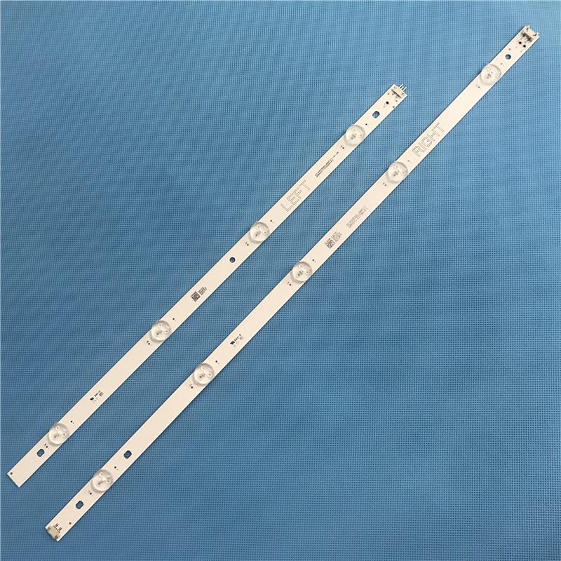 2pcs 993mm 49 Inch LED TV Backlight For NC490DGG-AAFX1-41CA GAN01-1255A/1295A-P1 NC490DUE Left + Right 4+5 LEDs Tv Parts