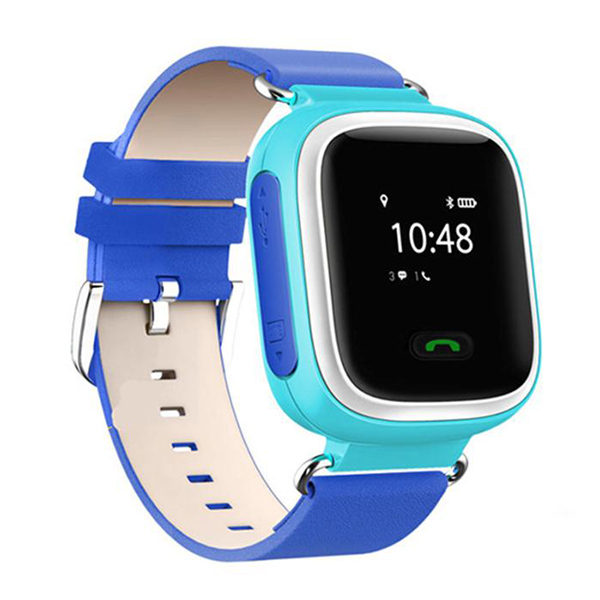 Top Deals New GPS Tracker SOS Call Q60 Children Smart watch For Android LG blue