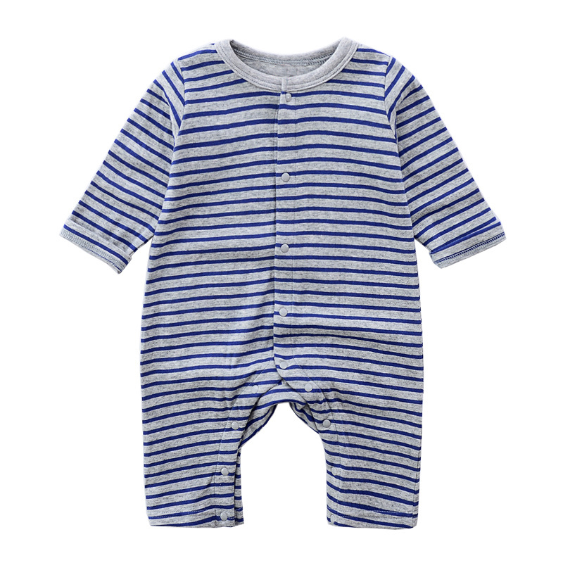 Baby Clothing 2018 New Newborn Baby Stripe Romper New Arrival Baby Girl Clothes Cotton Long Sleeve Baby Jumpers Infant Clothing