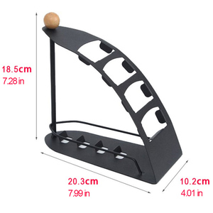 Image 3 - TV Remote Controller stand Holder for SIKAI 4 lattices Metal Organizer Cell Phone Storage box Support