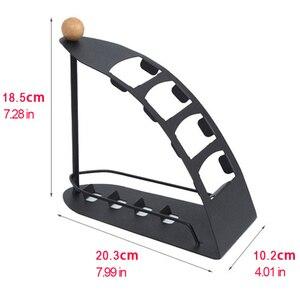 Image 3 - TV uzaktan kumandası için standı Tutucu SIKAI 4 kafesler Metal Organizatör cep telefonu saklama kutusu Desteği