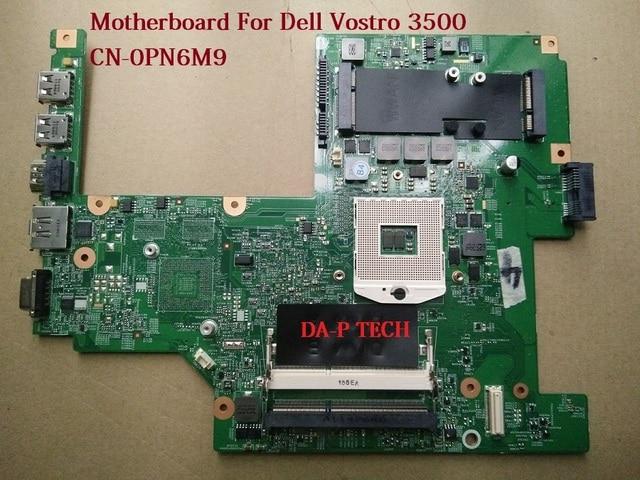 Máy tính xách tay bo mạch chủ cho dell vostro 3500 v3500 pn6m9 0pn6m9 cn-0pn6m9 55.4et101.001 100% kiểm tra đầy đủ