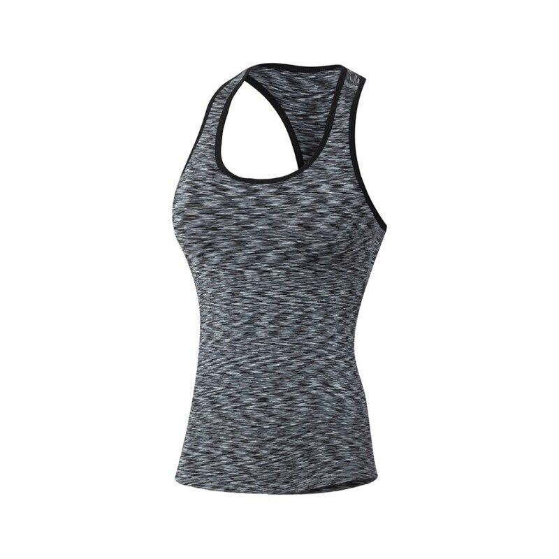 Women Fitness Quick Dry  Shirt Elastic Breathable Fitness Shirt  Tank Vest