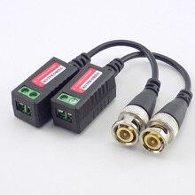10pairs (20 stück) 3000FT Abstand UTP Video Balun Twisted CCTV Balun Passive Transceiver BNC Kabel Cat5 CCTV Adapter