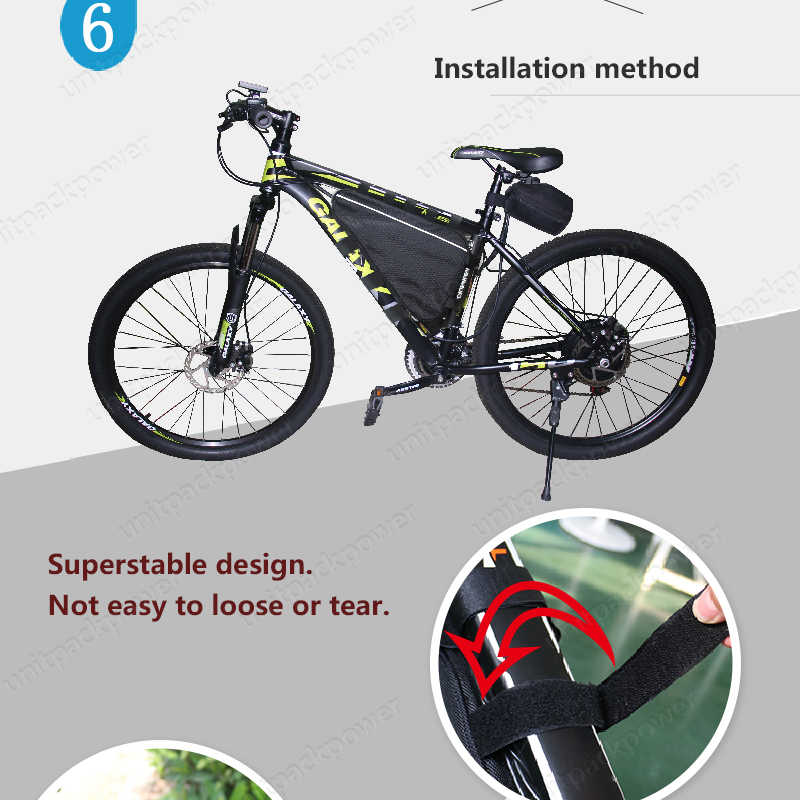 1500w electric Triangle bag Bateria 52V 20Ah 48v ebike Lithium ion Battery for bafang 750w 1000w TSDZ2 E BIKE bicycle motor