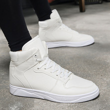 Hot 2019 Spring/Autumn New Men Shoes Casual Fashion Sneakers High Help Breathable Lace-Up Luxury Brand Plus Size 39-44