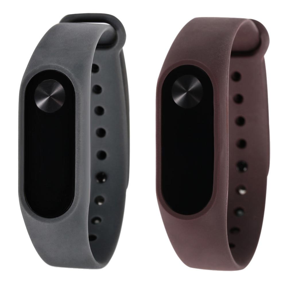 New Soft TPU Original Silicon Wrist Strap WristBand Bracelet Replacement For XIAOMI MI Band 2 drop ship Jul29 M30 silicone replacement wrist band strap bracelet for polar v800 sport smart watch t50p drop ship