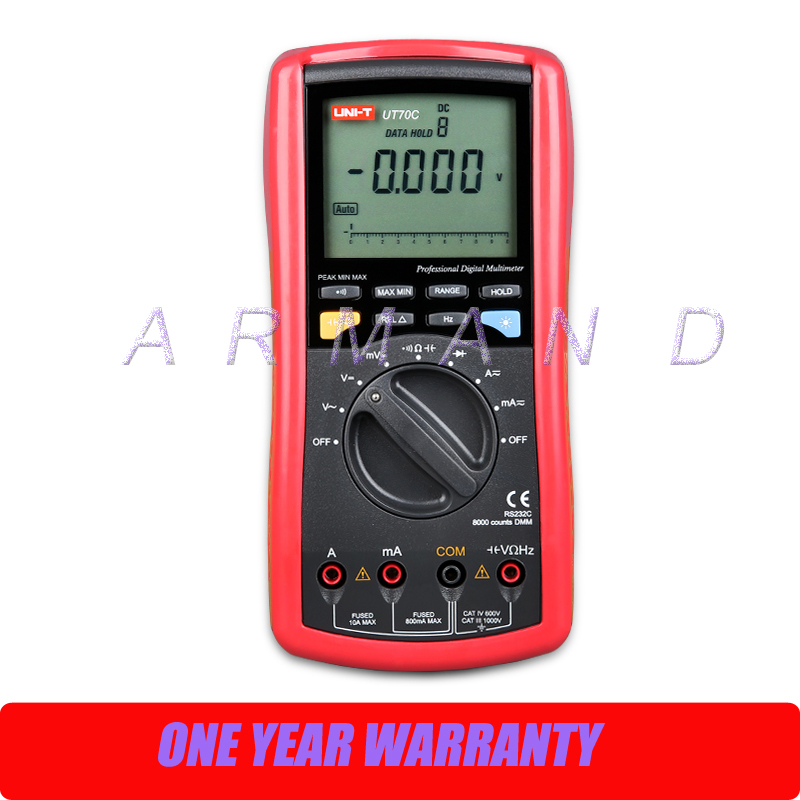 UNI-T UT70C LCD Handheld Digital Best High Accuracy Multimeter uni t ut90c ut 90c low price best multimeter digital with lcd display